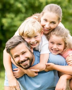 Family Dentist in Roanoke, VA - Affordable | Dr. R. Alan May, DDS - smiling-family